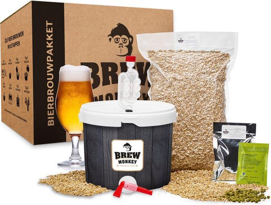 Brew Monkey bierbrouwpakket | starterspakket basis blond