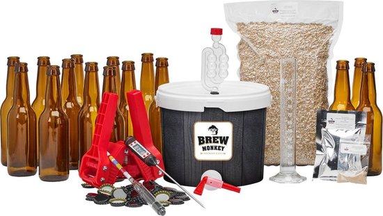 Brew Monkey bierbrouwpakket | Starterspakket luxe blond