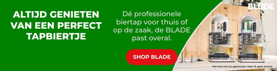 Hoe tap je bier | Heineken Blade 2021 Thuistap