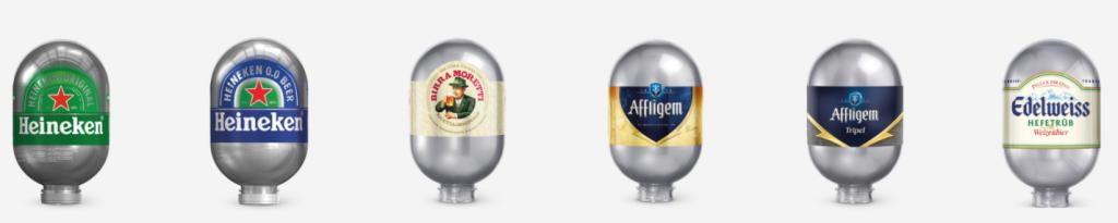 Heineken Blade Fusten | Aanbieding verschillende fusten