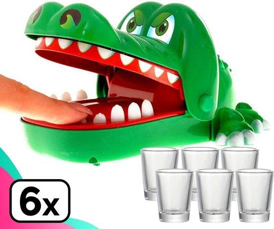 Leukste bierspellen | Bijtende krokodil